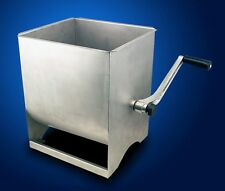 New MTN XL Commercial Restaurant Stainless Steel Hand Meat Sausage Mixer -50LBS