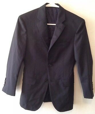 $109 NWOT NORDSTROM ELLIOT BIG BOYS NAVY BLUE BLAZER SUIT JACKET NEW SIZE 18