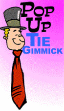 Pop Up Tie Gimmick - Your Tie Rises Whenever You Want - Hilarious and Hands Free