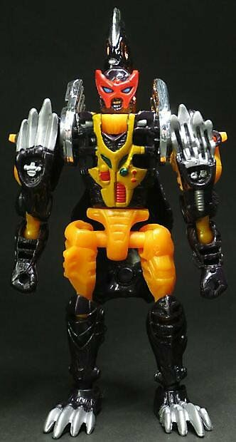 Japan Rare Takara Transformers Car Robots 2000 RID D-002 GAS SKUNK Action Figure