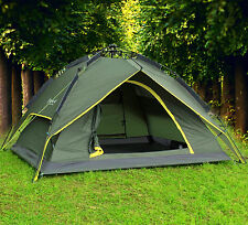 Double layers Automatic Outdoor Instant Camping Hiking Family Umbrella Tent