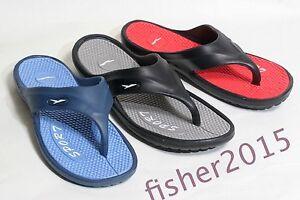 New Men's Sport Slide Sandals Flip Flops Shoes Indoor Outdoor Beach Pool sz 7-13