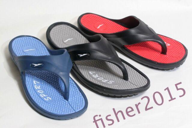 New Mens Gull Sport Flip Flops Shoes Sandals Shower Beach Pool *Run a Size Small