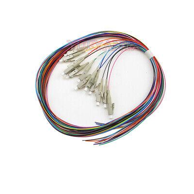 Monoprice OM3 Fiber Optic Cable PVC 5M 50//125 LC//UPC-LC//UPC Multi Mode