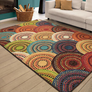 Colorfast Area Rug Carpet For Home Living Room Office