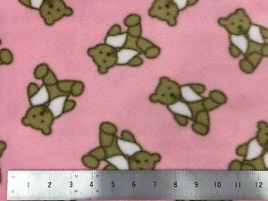 teddy fleece per meter