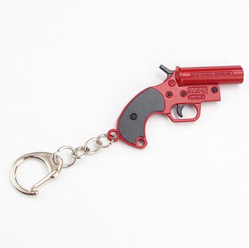 Unisex Key Fob Metal Gun Accessory Model Keychain Chain Weapon Keyring Pendant