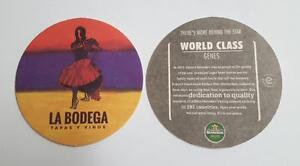 LA-BODEGA-Promo-HEINEKEN-BEER-Beer-Mat-Coaster-MALAYSIA-2016-Lady-Dancer-RARE