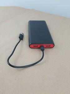 Portable Charger Power Bank 25800mah High Capacity Fast Phone Charging Black Ebay