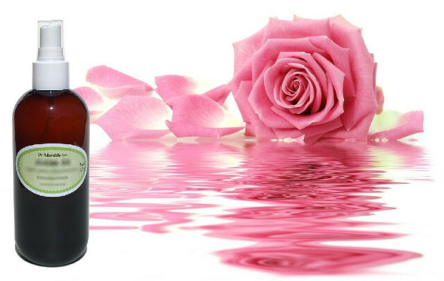 Organiс Pure Rose Water Skin Face Facial Toner Cleanser Comes with a Sprayer!!!