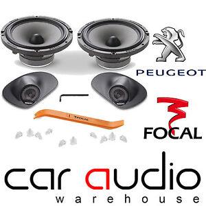 focal ifp207 peugeot 207 307 308 6 5 17cm car stereo custom upgrade speaker kit ebay. Black Bedroom Furniture Sets. Home Design Ideas