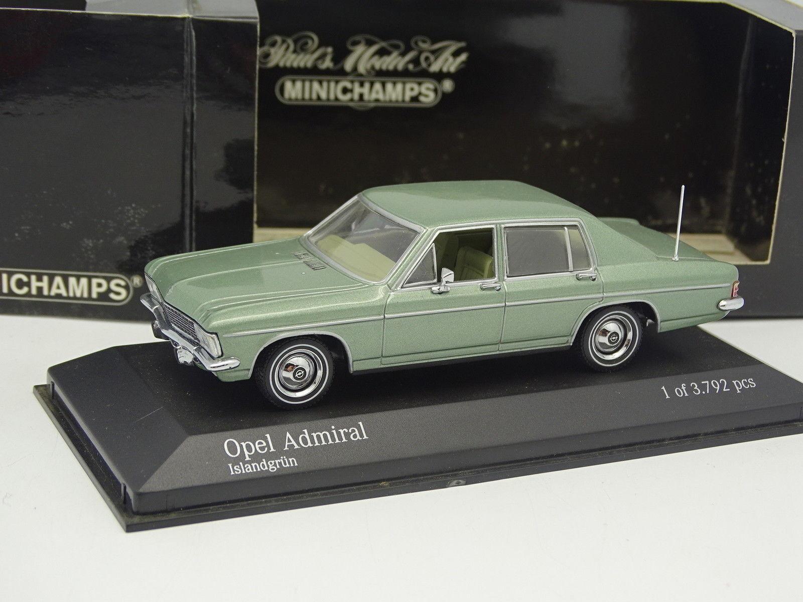Minichamps 1 43 - - - Opel Admiral Green 05d8c8