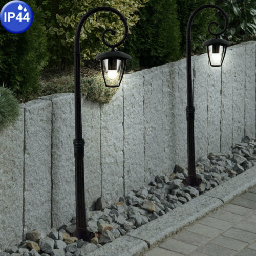 Persone esterne Lampada da giardino candelabro Alluminio Lanterna terrazze Stand Big LIGHT