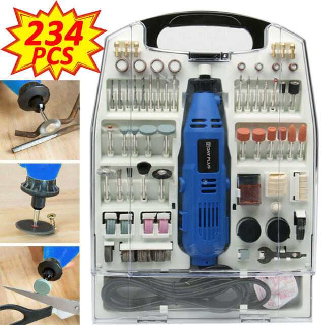 135W Multi Tool With 234Pc Accessory Set Dremmel Drill Compatible Polisher Kit