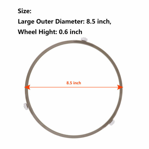 Microwave Oven Glass Turntable Circle Plate Bracket Base Wheel Roller Support