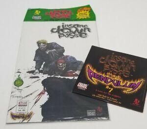 Psychopathic Record - The Pendulum 7 Comic Book & CD insane clown posse twiztid