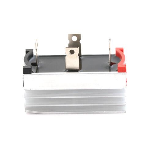 Aluminum Heatsink Base Single Phase Bridge Rectifier Diode 50A 1000V FadSG
