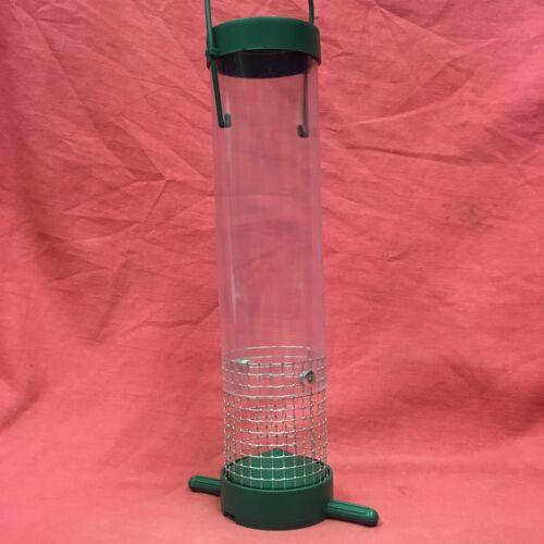 3 Wild Garden bird Unique Suet Pellet Feeder VASSOIO di risparmio di denaro facile riempimento in plastica