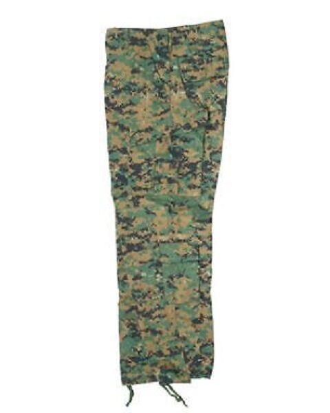 US ACU Combate Tácticas Woodland Digital Ripstop Pantalones  De Campo  Envíos y devoluciones gratis.