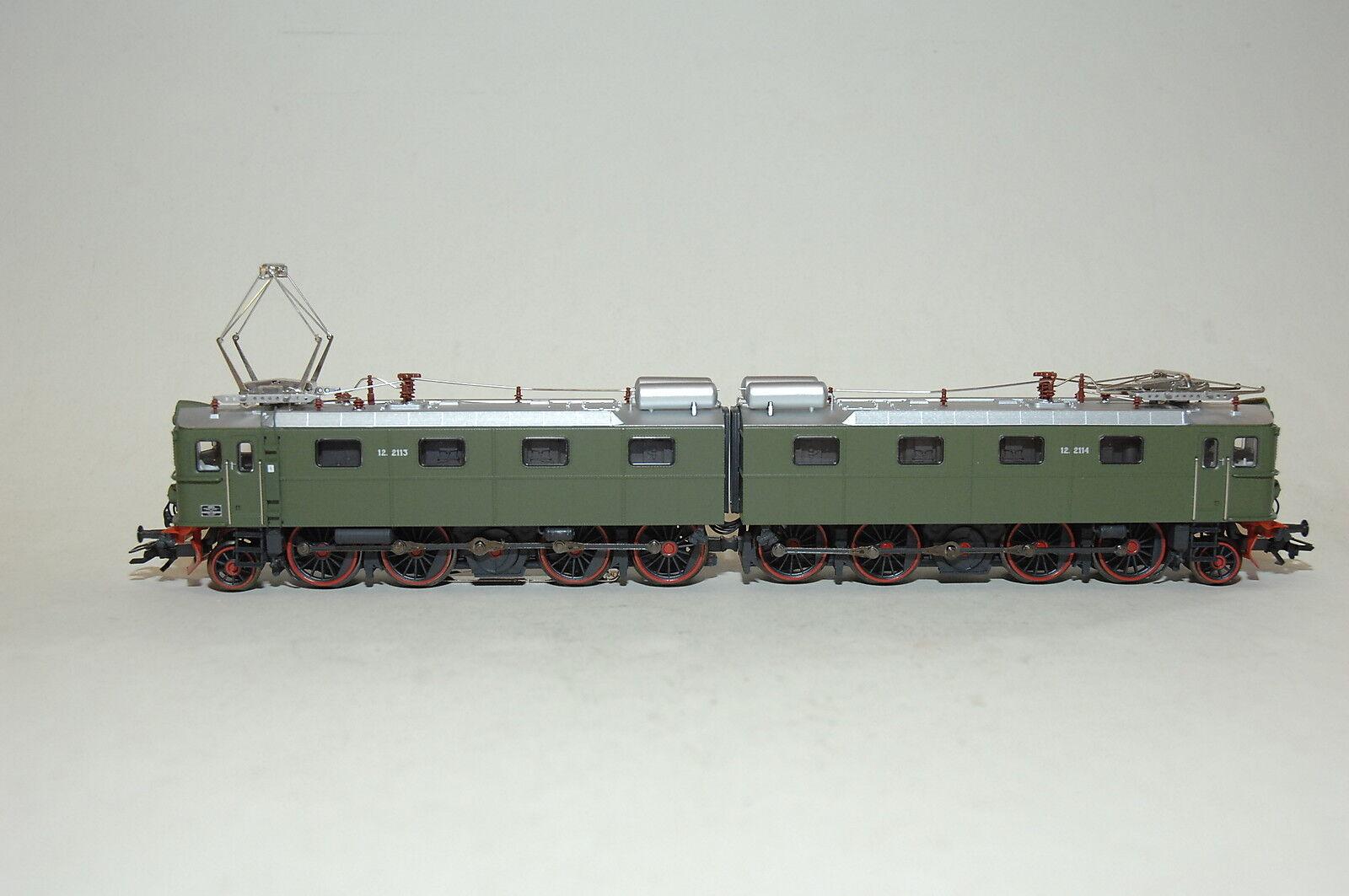 Märklin 37754 Locomotive de Miniers Lourds Rangées El12 Der NSB Mfx