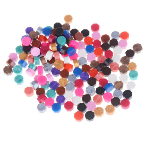 10pcs Multicolor Stamps Sealing Wax Granule Wedding Documents Stamp Supply