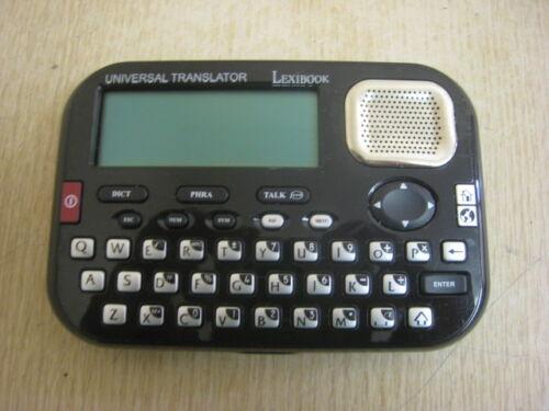 LEXIBOOK MT1500 UNIVERSAL TRANSLATOR 15 LANGUAGES 10K WORDS 500 PHRASES 136