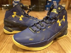 05f070f62d3 New DS Curry 2 SC Under Armour 1259007-422 Dub Nation Home Blue ...