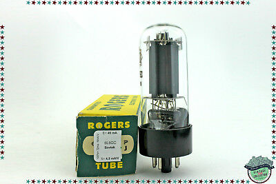 6L6GC / 6L6 Sovtek Vacuum Tube, Valve, Röhren, tested, USED