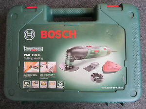 Empty Carry Case for Bosch PMF 190 E All Rounder Multi Cutting Tool 190W PMF190E 7625643452820