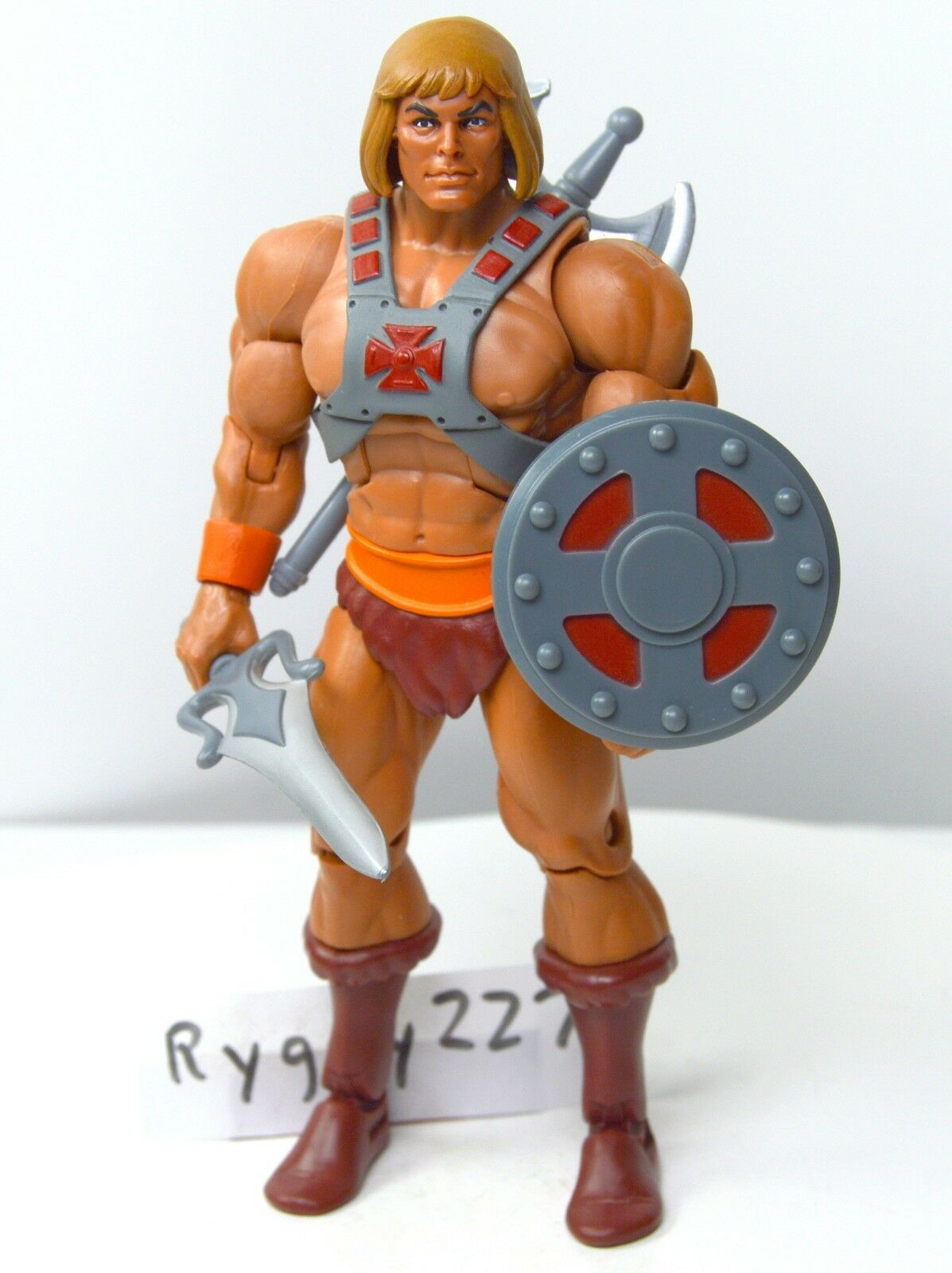 MOTUC, He-Man 2.0, Filmation figure, Masters of the Universe Classics, Shield