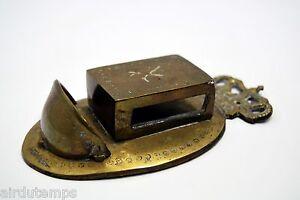 Halter Kiste Matchbox Bronze Xixè Königskrone Match Holder Wand 1 Sonstige