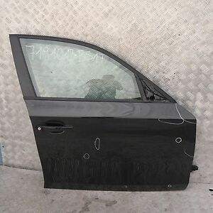 BMW 1 SERIES 17 E87 E87N Door Front Right O/S Black Sapphire Metallic - 475