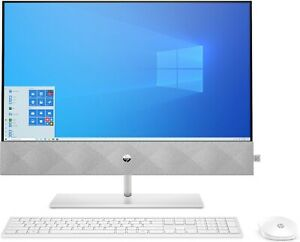 """HP Pavilion 24-k0007na 23.8"""" All in One Desktop i3-10300T 8GB 2TB+256GB 1E0C2E#P"""
