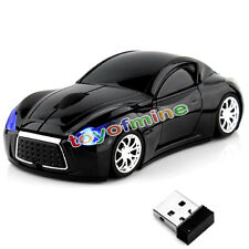 Nuovo 2.4GHz Wireless 3D Infiniti Car/Auto Usb Optical Gaming Mouse Mice