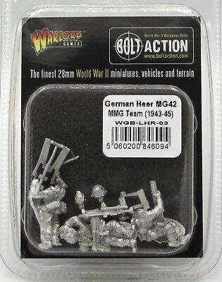 WWII Paratroopers Bolt Action WGB-LFJ-03 Fallschirmjager MG42 MMG Team German