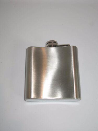 Irish Ireland Shamrock Stainless Steel 6oz Flask
