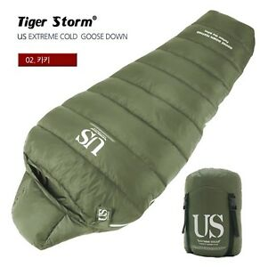 US-Extreme-Cold-High-Quality-Goose-Down-Winter-Camping-Outdoor-Sleeping-Bag-Gear