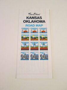 Vintage-Travel-Vision-Kansas-Oklahoma-Oil-Gas-Service-Station-Road-Map