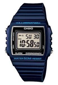 Casio-W-215H-2AVEF-Orologio-Batteria-7-anni-Sveglia-Crono-50-metri-Luce