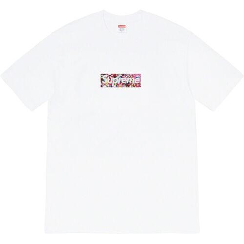Supreme 20SS Box Logo Tee Takashi Murakami joint theme LOGO T-shirt