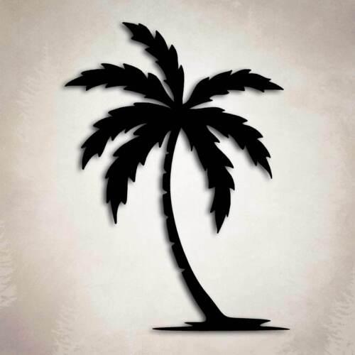 Palm Tree Decal Car Truck Window Island Tropical Beach Sticker