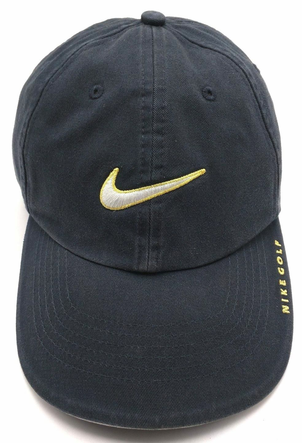NIKE NIKE NIKE GOLF blue adjustable cap / hat - 100% cotton 26b354