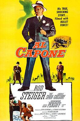 AL CAPONE Movie Star Art Waterproof Poster 24x36Inch