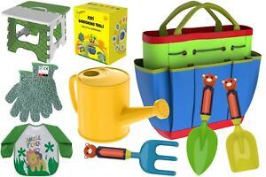 Remarkable Details About Kids Gardening Tools Outdoor Toys Set Garden Gloves Smock Apron Work Bench Pdpeps Interior Chair Design Pdpepsorg
