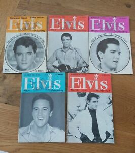 ELVIS-MONTHLY-MAGAZINES-6TH-YEAR-1966-5-ISSUES-UK-inc-No-1