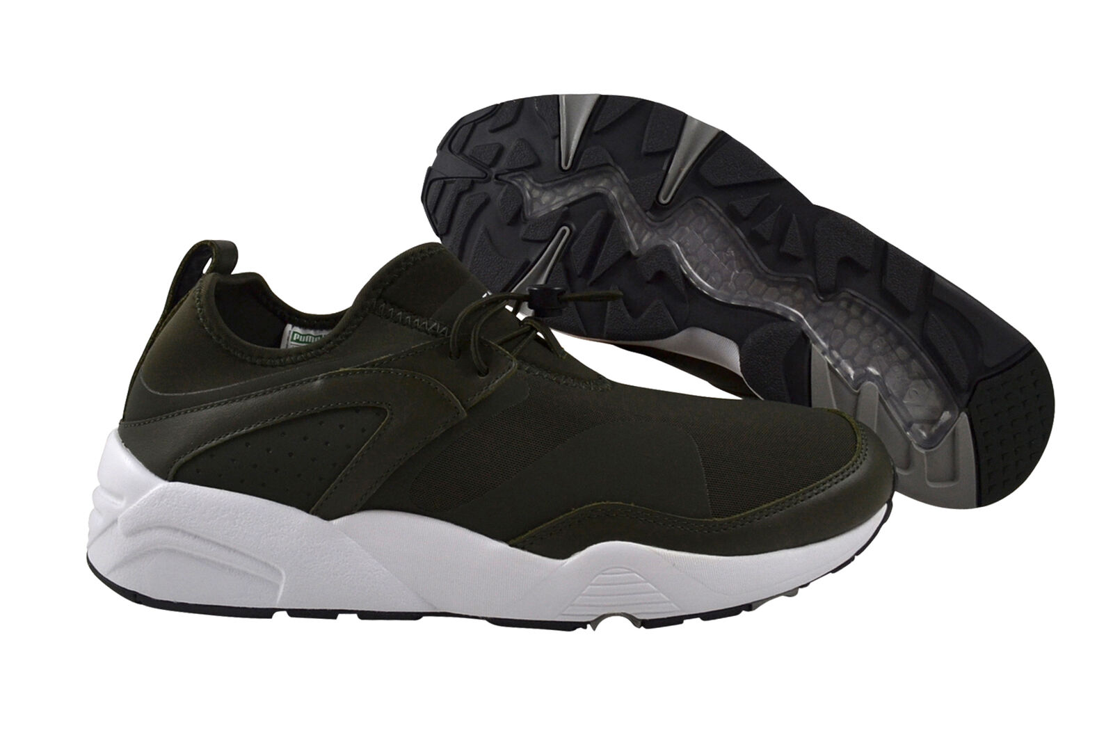 PUMA Blaze of Glory NUX Stampd 361493 01 FOREST NIGHT WHITE VERDE
