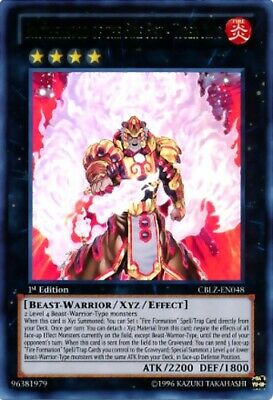Brotherhood Of The Fire Fist - Tiger King Pgld-en045 Gold Rare Unlimited Mp