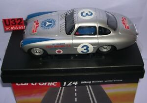 CARTRONIC-31001-SLOT-CAR-1-24-MERCEDES-300-SL-3-III-PAN-AMERICAN-MEXICO-MB