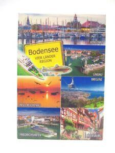 Konstanz-Lindau-Bregenz-Bodensee-Foto-Magnet-Souvenir-Germany