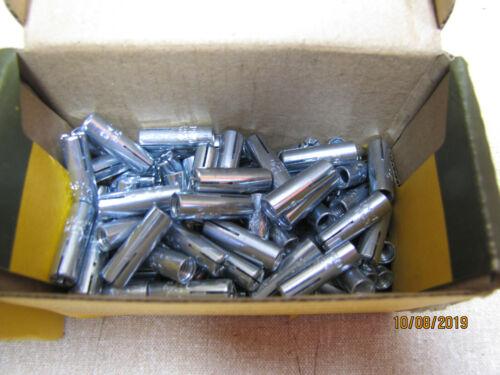 DeWalt DFM2110500 DM-Pro M6 Drop In Manche Ancre-Zinc Plaqué pk100